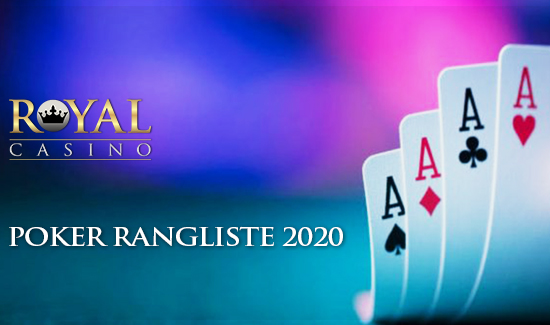 Ny Poker Rangliste for 2020